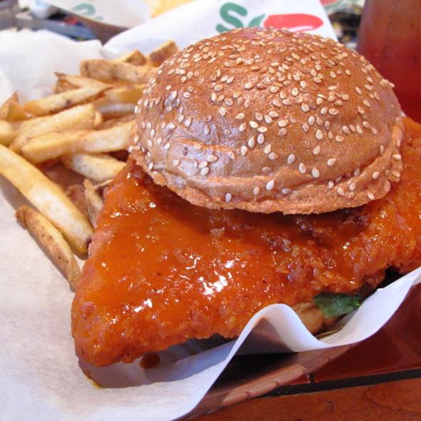 chili's buffalo chicken ranch sandwich recipe
