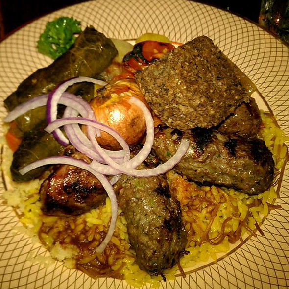 Combination Plate - Mama Ayesha's, Washington, DC