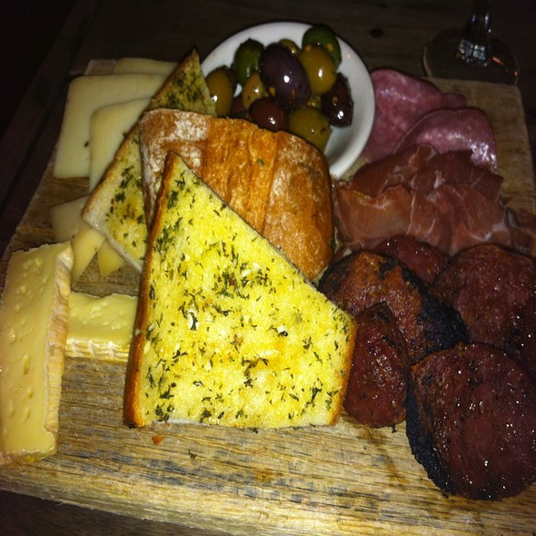 cheese & charcuterie plate - The Crooked Knife, New York, NY