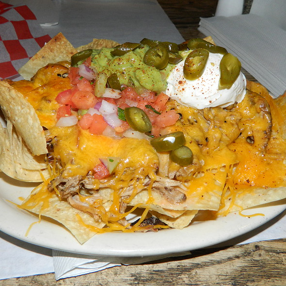Pulled Pork Nachos - Old Glory Barbeque, Washington, DC