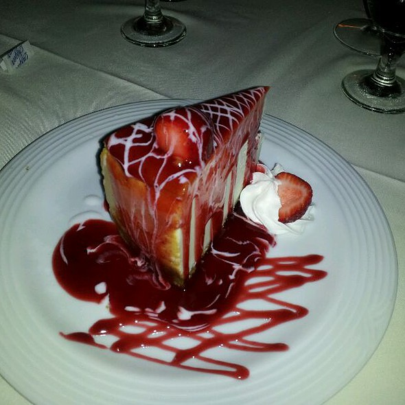 Strawberry Cheesecake - Chama Gaucha Brazilian Steakhouse, Downers Grove, IL