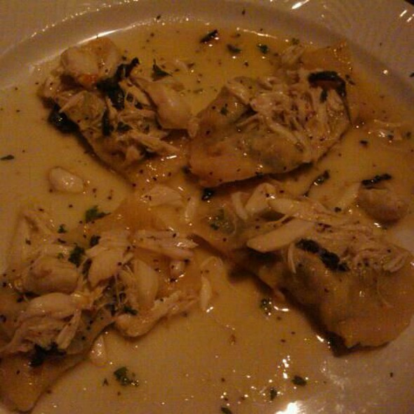 Homemade Ravioli With Spinach And Lump Crabmeat - Roma Ristorante - Allentown, Allentown, PA