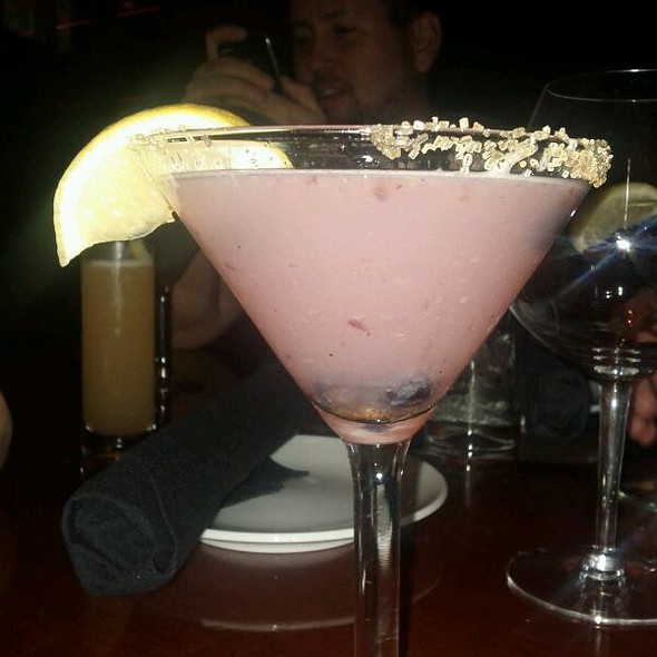 Blueberry Lemon Drop - Fleming's Steakhouse - Baltimore, Baltimore, MD