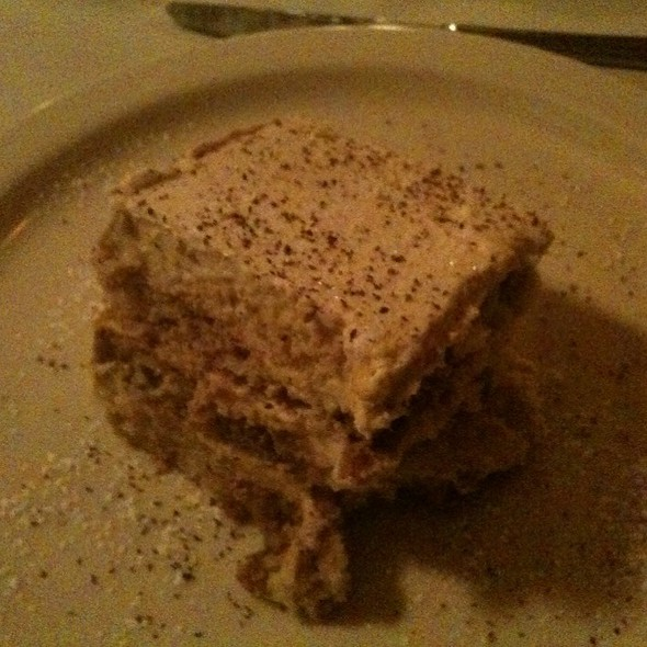 Tiramisu - Botticelli Ristorante, Rapid City, SD