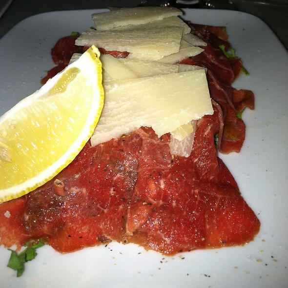 Beef Carpaccio - Cellar 58, New York, NY