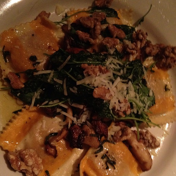 Pumpkin Ravioli - Clyde's Willow Creek Farm, Ashburn, VA