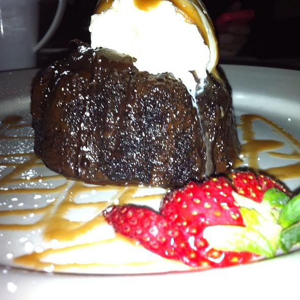 Chocolate Lava Cake - Oakville Grille and Wine Bar, Bethesda, MD