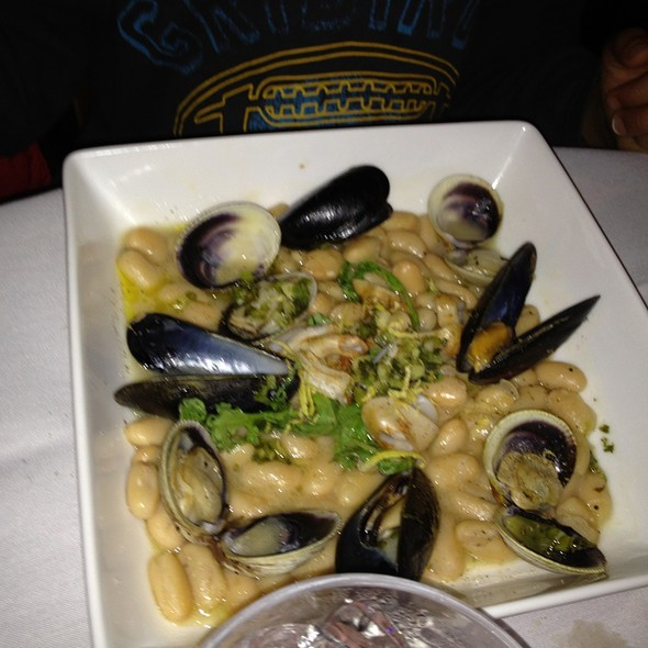 Mussels, Calamari, Clams On White Beans - Bistro 18, Montclair, NJ