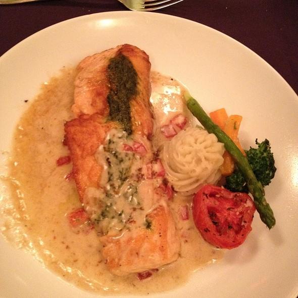 Baked Salmon - Frederick's Bistro, San Antonio, TX
