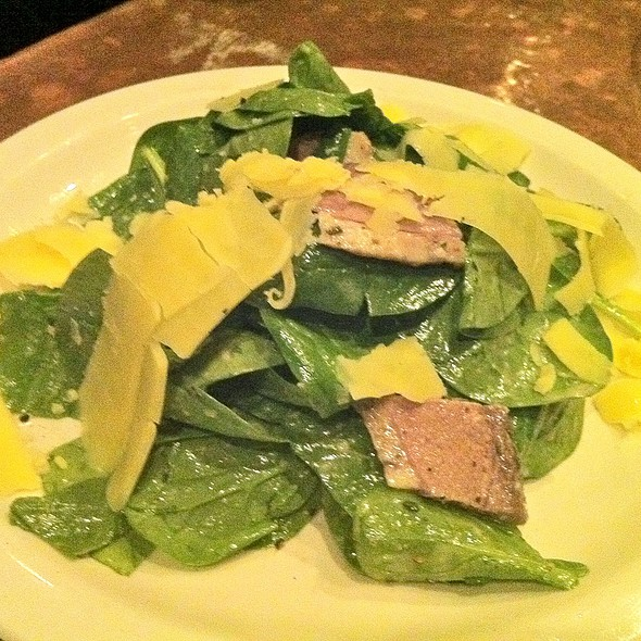 Baby Spinach with Duck Breast - Street and Co., Portland, ME