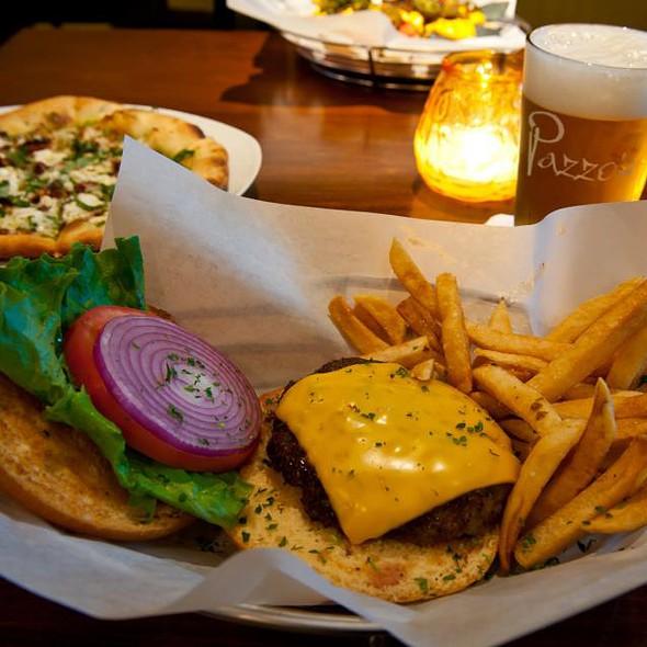 Cheese Burger - Pazzo's Cucina Italiana - 23 E Jackson Blvd, Chicago, IL