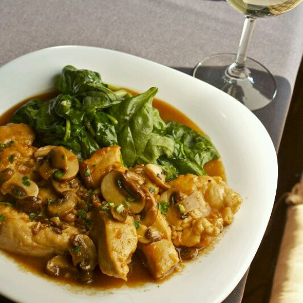 Chicken Marsala - Campania Cafe, Davidson, NC