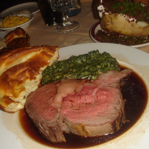 Prime Rib - House of Prime Rib, San Francisco, CA