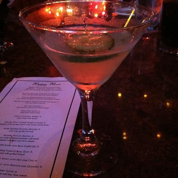 Zesty Cucumber Martini - Urban Fondue, Portland, OR