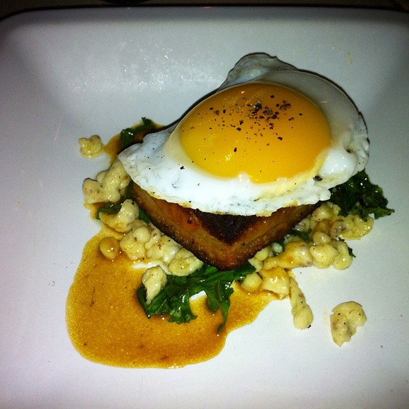 Fried Duck Egg With Pork Belly - Mombo, Portsmouth, NH