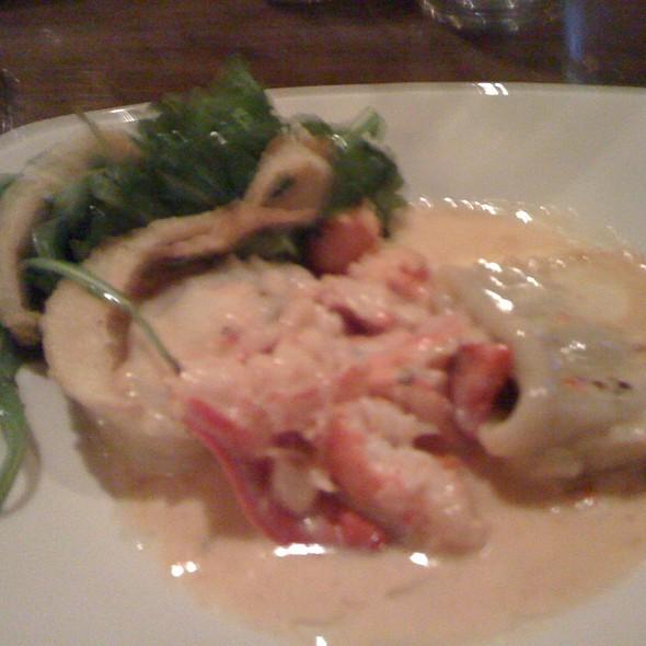 Tortelloni + Lobster - Trio Rhode Island, Narragansett, RI