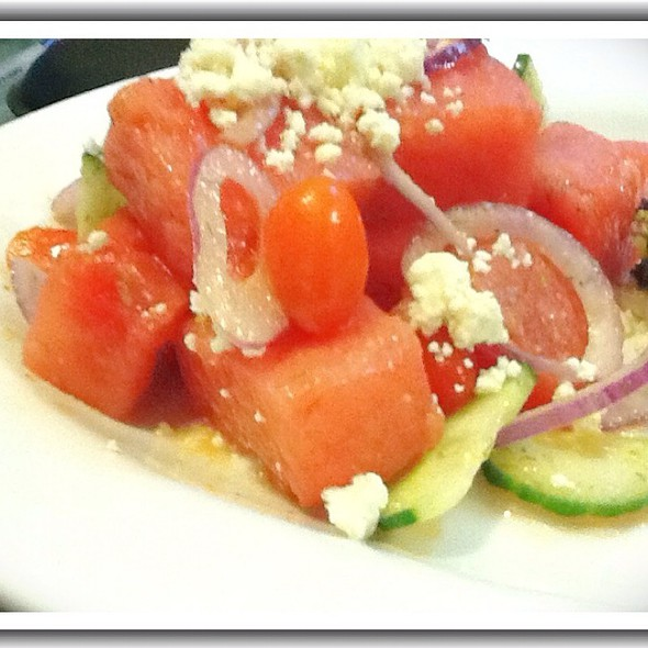 Watermelon, Feta and Mint Salad - Bogota Latin Bistro, Brooklyn, NY