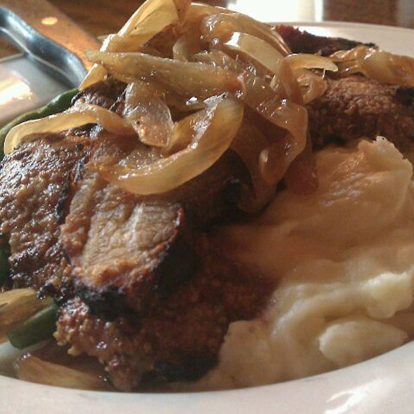 Calf Liver - Clyde's of Reston, Reston, VA