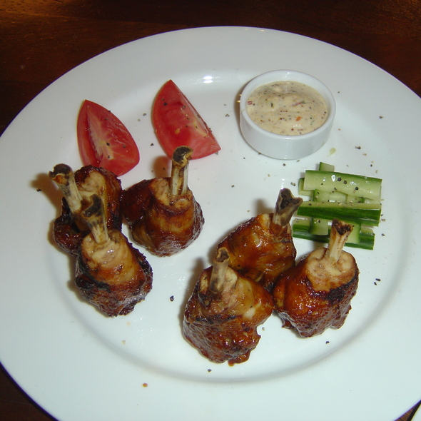 Chicken Lollipops - Tommy Bahama Restaurant & Bar - Las Vegas, Las Vegas, NV