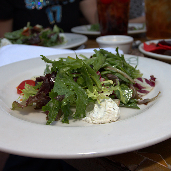 Field Greens with Texas Goat Cheese Salad - Reata, Fort Worth, TX