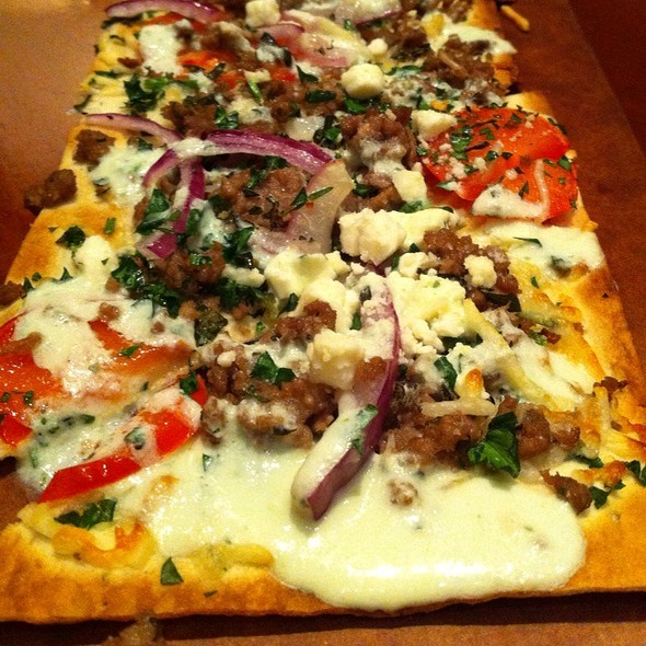 Gyro Flatbread - Seasons 52 - Ft. Lauderdale, Fort Lauderdale, FL