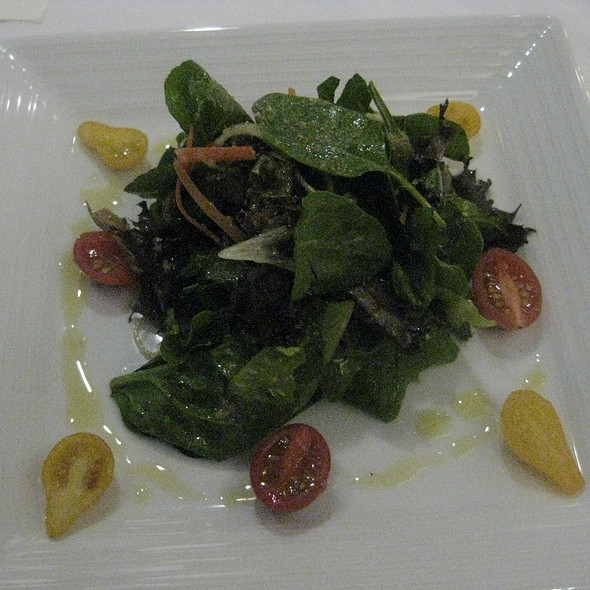 Tossed Wild Baby Greens Salad (vegetarian) - Waterleaf Restaurant - Glen Ellyn, Glen Ellyn, IL