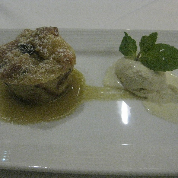 Bourbon Raisin Bread Pudding - Waterleaf Restaurant - Glen Ellyn, Glen Ellyn, IL