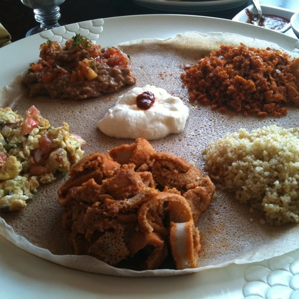 Ethiopian Brunch Last Sunday Of The Month - Mesob Ethiopian Restaurant, Montclair, NJ
