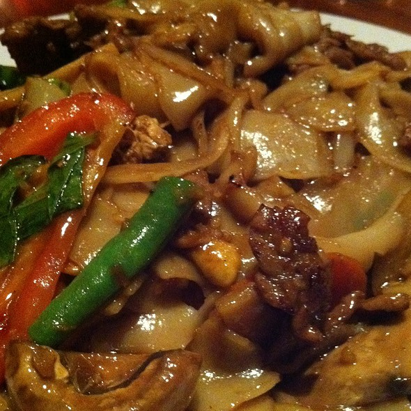 Drunken Beef Noodles - Indochine Asian Dining Lounge, Tacoma, WA