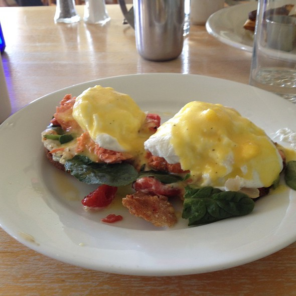 Smoked Salmon Eggs Benedict - Blue Bird Bistro, Kansas City, MO