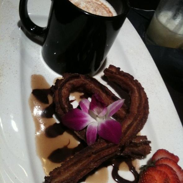 Churro With Hot Chocolate - Luibueno's Mexican & Latin Cuisine, Haleiwa, HI