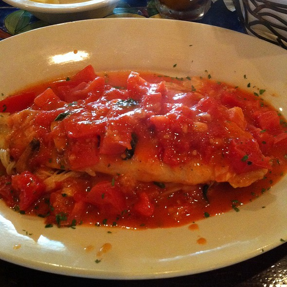 Sole With Fresh Tomato Sauce Over Capellini - Tarantella Ristorante & Pizzeria, Weston, FL