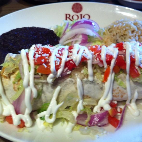 Vegetable Fajita Burrito - Rojo Mexican Bistro - Rochester, Rochester, MI