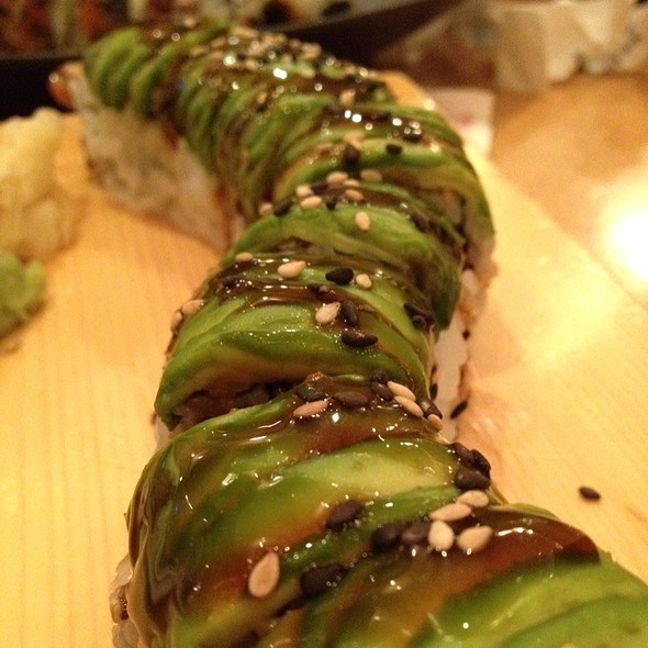 Caterpillar Roll - Sushi House, Leawood, KS