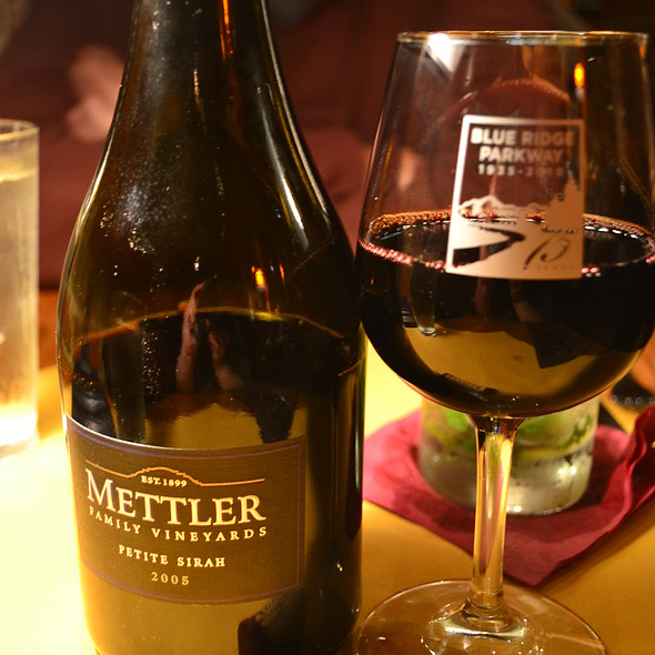 Red Wine - Bistro Roca and Antlers Bar, Blowing Rock, NC