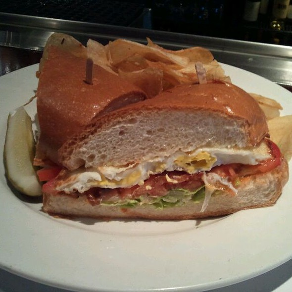 Bacon Egg Lettuce Tomato (BELT) Sandwich  - Perry's - Embarcadero, San Francisco, CA