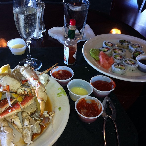 Brunch! Crab And Sushi - Ports O Call, San Pedro, CA