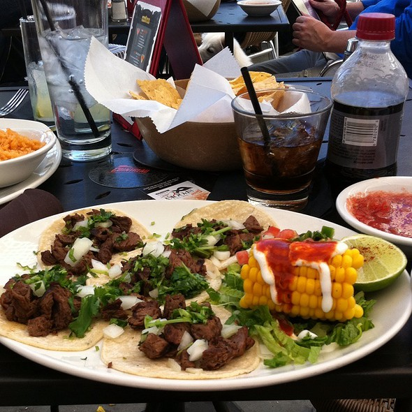 Mini Mexican Tacos - Jorge's Tex Mex Cafe, Dallas, TX